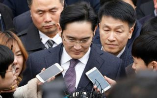 samsung lee 320x200 - Samsung Group Chief Jay Y Lee Indicted for Bribery Charges