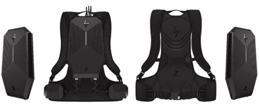 HP's Z VR Backpack PC