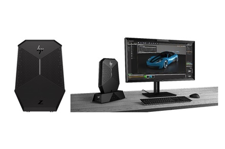 hp z vr backpack pc and dock - HP Inc reveals dockable, wearable VR workstation for the office