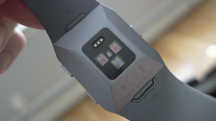 fitbit ionic sensors