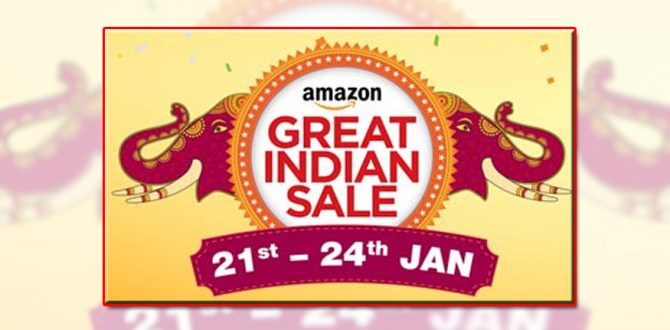 Amazon Great Indian Sale 670x330 - Amazon Great Indian Sale: Top Upcoming Deals on Smartphones, Electronics, Games And More