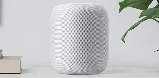 Apple HomePod 1 670x330 - Apple HomePod Smart Speaker With Siri to be Available on February 9