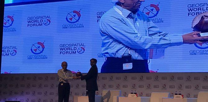 Geospatial World Leadership Awards 2018 670x330 - Former ISRO Chairman AS Kiran Kumar Wins 'Special Achievement Award' at Geospatial World Forum 2018