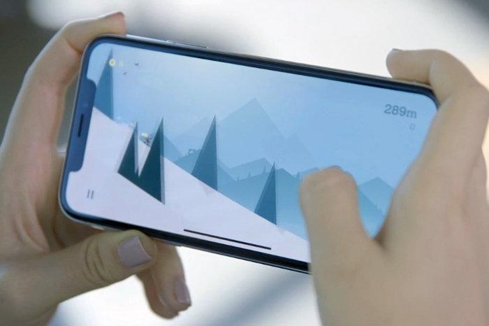 iphone x landscape