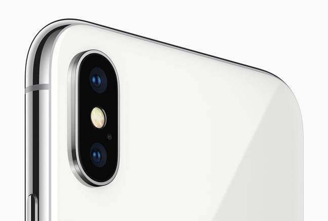 iphone x rear camera
