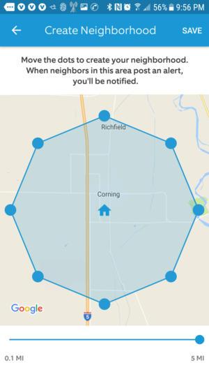 ring neighborhoods perimeter