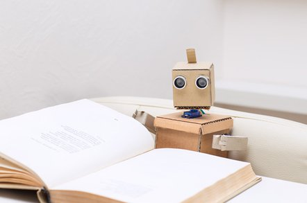 robot reading photo via shutterstock - Today in bullsh*t AI PR: Computers learn to read as well as humans (no)