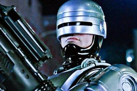 shuterstock robot cop - Software that predicts whether crims will break the law again is no better than you or me