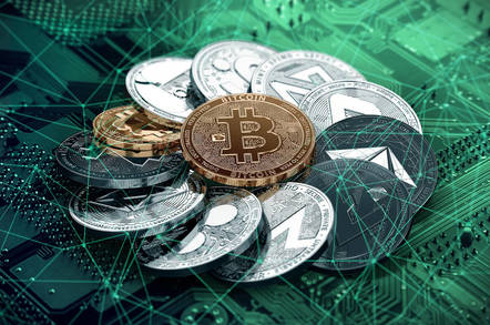shutterstock cryptocurrencies - Cyber-coin crackdown continues: Commission charges couple crypto-currency company chiefs concerning 'conned' customers