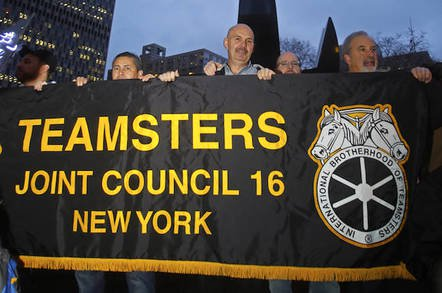 shutterstock teamsters - No parcel drones. No robo-trucks – Teamsters driver union delivers its demands to UPS