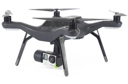 3dr solo drone gopro - We've built a 4G drone tracking system, beams Vodafone