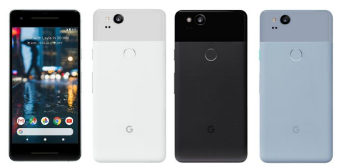Google Pixel 2 and Pixel 2 XL 1 670x330 - Google Shipped 3.9 Million Pixel Devices in 2017