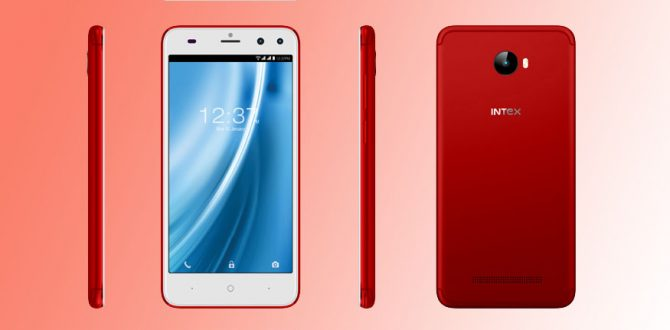 Intex Elyt Red Smartphone 670x330 - Intex Elyt Dual Launched in 'Royal Red' Colour at Rs 6,999 as a Limited Edition