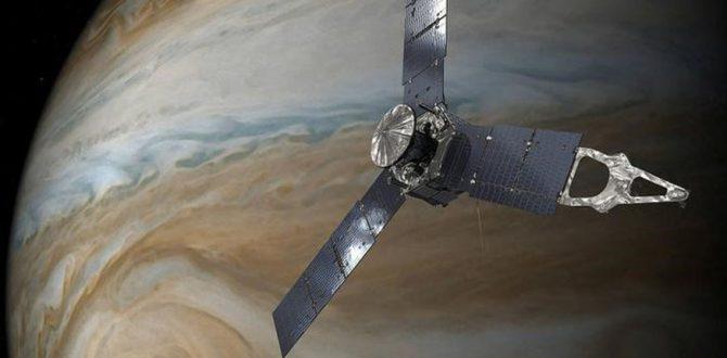 NASA JUNO JUPITER 670x330 - NASA's Juno Probe Completes 10th Science Orbit of Jupiter