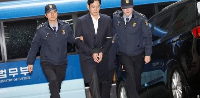 Samsung Group Chief Jay Y 670x330 - South Korean Appeals Court to Rule on Samsung Scion Lee's Conviction And Jail Term