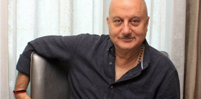 anupam kher1 670x330 - Anupam Kher's Twitter Account Suspended After Hackers Tweet 'I Love Pakistan' From His Handle
