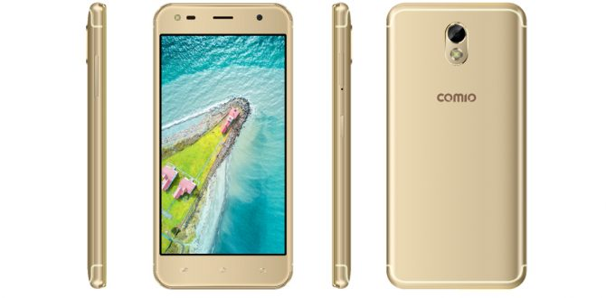 comio 1 670x330 - Comio S1 Lite, C2 Lite Budget Smartphones Launched in India: Price, Specifications And More