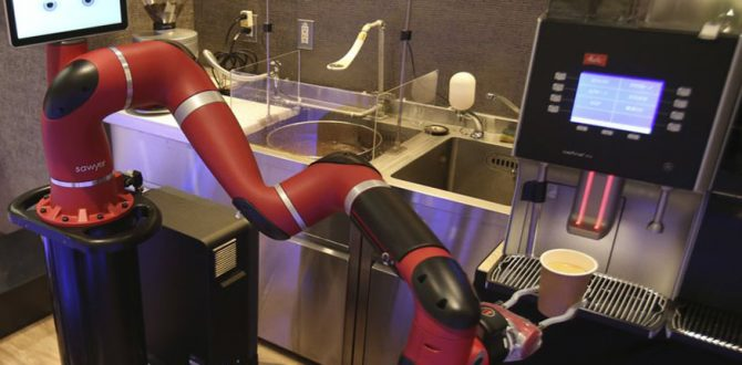 japan 670x330 - Robot Makes Coffee at New Cafe in Japan's Capital