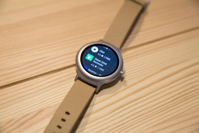 lg watch style play