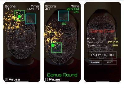screenshot from Apple's app store of the noze Zone app
