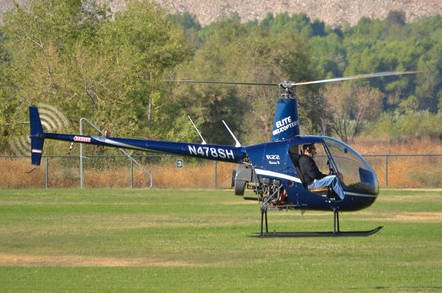robinson r22 shutterstock - Helicopter crashes after manoeuvres to 'avoid… DJI Phantom drone'