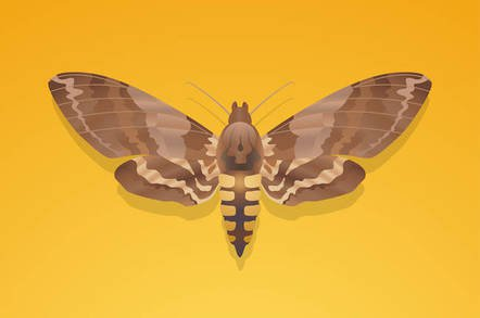 shutterstock moth - Roses are red, are you single, we wonder? 'Cos this moth-brain AI can read your phone number