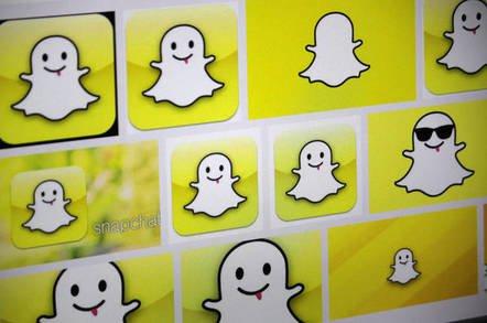 snapchat 3453346 - Your day's going crap? Let's rap. Snapchat self-splat chat app chaps zap $350m, Wall St saps clap