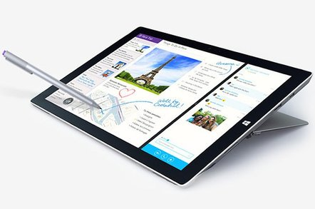 surface pro 3 - $14bn tax hit, Surface Pro screens keep dying – but it's not all good news at Microsoft