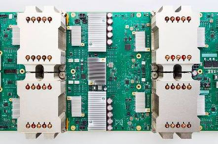 tpu2 - Wanna gobble Google's custom chips? Now you can – its Cloud TPUs at $6.50 an hour
