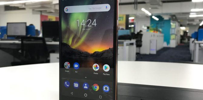 Nokia 6 2018 Display 670x330 - Nokia 6 (2018) Review: An Attractive Android One Smartphone Proposition