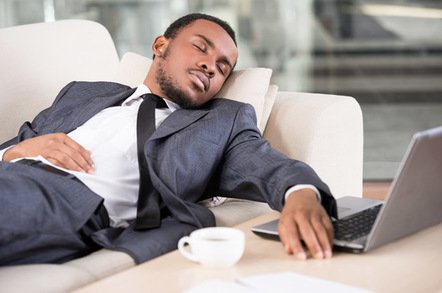 asleep on the sofa image via shutterstock - Wow, braking news: Overworked, tired ride-sharing drivers declared a public health risk