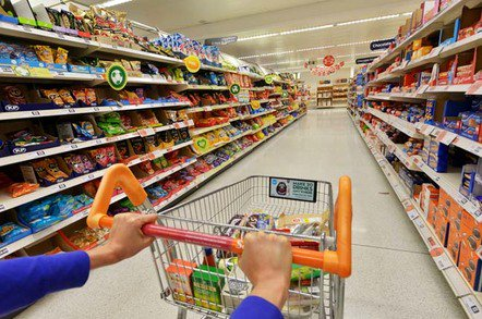 shopping cart photo via shutterstock - 'Every little helps'… unless you want email: Tesco to kill free service