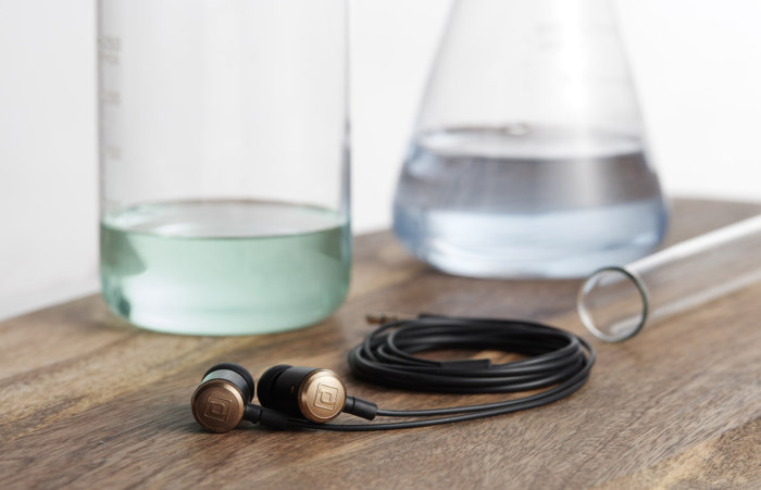 The Periodic Audio Be's gold cap is also a counterweight, making the headphones very comfortable to