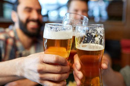 beer shutterstock - Intel confab roundup: Beer and earthquakes, flying cars and IPOs