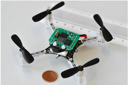 crazyfile nanoquadrotor - Boffins build smallest drone to fly itself with AI