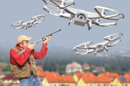 drone shooting - Boffins urge Google to drop military deal after Googlers storm out over AI-based super-drones