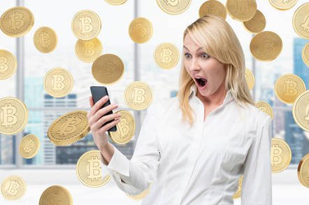 shutterstock btc shock - Whoa, Gartner drops a truth bomb: Blockchain is overhyped and top IT bods don't want it