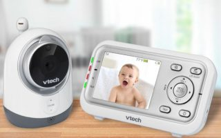 1 vm3251 hero lifestyle min 100759096 large 320x200 - VTech VM3251 Expandable Digital Video Baby Monitor review: providing parents peace of mind