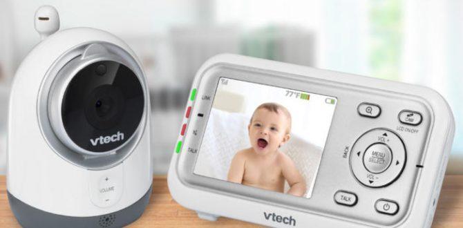 1 vm3251 hero lifestyle min 100759096 large 670x330 - VTech VM3251 Expandable Digital Video Baby Monitor review: providing parents peace of mind