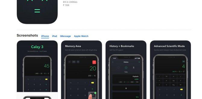 calzy 3 670x330 - Chennai-Based Developer's App 'Calzy 3' Wins Apple Design Award